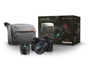 [Adhérents] Appareil photo numérique Panasonic Lumix DC-G9 + objectifs 14-140mm + 25mm + sac Peak Design (+ 135€ sur le compte-fidélité)