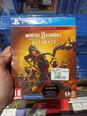 Mortal Kombat 11 Ultimate Édition Limitée sur PS4 - Logelbach-Wintzenheim (68)