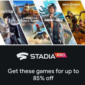 [Stadia Pro] Sélection de jeux AAA en promotion sur Stadia - Ex : Judgment à 10€ ou Rainbow Six Siege Ultimate à 15.30€ (Dématérialisé)