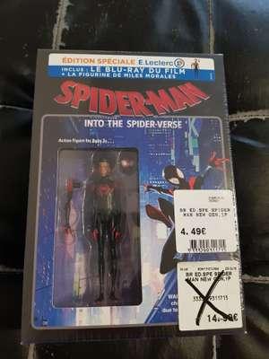 Coffret Blu-Ray Spiderman : info the spiderverse + figurine - St. Brice (51)
