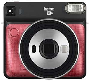 Appareil photo instantané Fujifilm Instax square 6 - Ruby Red