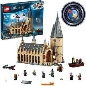 Jeu de construction Lego HarryPotter LaGrandeSalleduchâteaudePoudlard n°75954