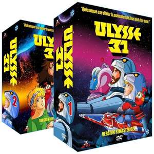 Pack 2 Coffrets DVD Ulysse 31 - Intégrale (Version Remastérisée)