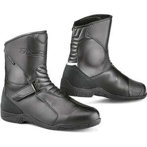 Demi-bottes pour Moto TCX Hub Waterproof - Noir (Taille 40 à 45)