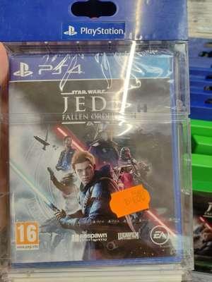 Sélection de jeux-vidéo en promotion - Ex : Star Wars Jedi: Fallen Order sur PS4 - Saint-Jean-de-Védas (34)