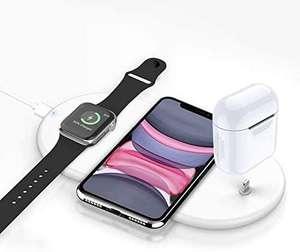 Chargeur 3 en 1 sans Fil Rapide pour Apple Watch / Airpods / Téléphone (Vendeur Tiers)