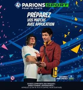 2€ de réduction dès 5€ misés en Paris Gratuits (hors Loto Sports - via l'Application)