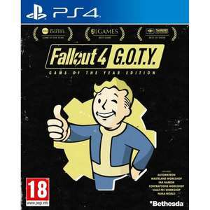 Fallout 4 GOTY - Game of the Year Edition sur PS4 (Via retrait en magasin)