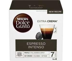 Boite de 16 capsules de café Nescafé Dolce Gusto Espresso Intenso