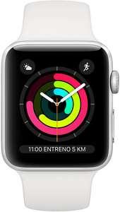 Montre connectée Apple Watch SLP Series 3 (38mm, blanc ou noir) - reconditionnée