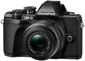 Appareil photo numérique Olympus OM-D E-M10 Mark III (16.1 Mpix, Live MOS, vidéo 4K UHD) + objectif 14-42 mm II R