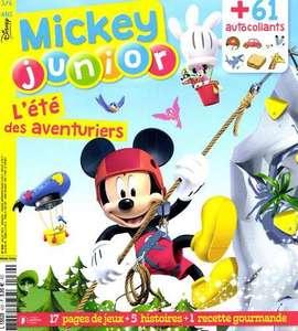 Abonnement d'un an au magazine Mickey Junior - Mensuel, 12 numéros