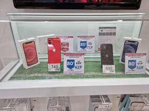 """Smartphone 5.4"""" Apple iPhone 12 Mini - 64 Go - Plusieurs coloris (Via 80€ sur Carte Fidélité) - Martigues (13)"""