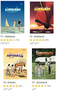 Sélection de BD Les mondes d'Aldébaran en promotion (Dématérialisé)