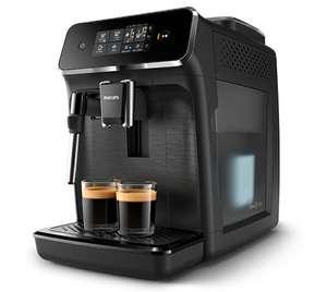 Machine expresso à café grains avec broyeur Philips EP2220/10 + 4 Paquets de 250g de Café + 2x 10€ en Bons d'achat