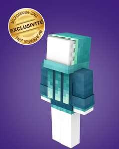 Skin Calamar Luisant offert pour Minecraft (Dématérialisé)