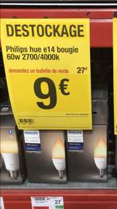 Ampoule connectée Philips Hue White Ambiance Bougie E14 - Lempdes (63)