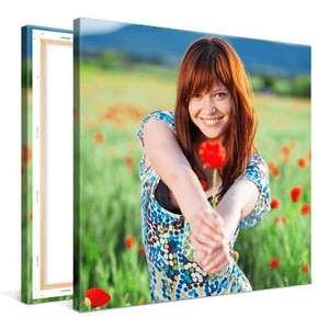 Sélection de photos sur toile en promotion - Ex: 20 x 20 cm (frais de port inclus)