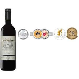 Sélection de vins en promotion - Ex : Haut-Médoc Cru Bourgeois Château Trois Moulins 2014