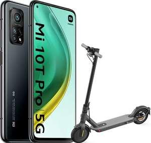 """Pack Smartphone 6,67"""" Xiaomi Mi 10T Pro 5G Black - 8 Go, 128 Go + Trottinette électrique Mi Scooter 1S"""