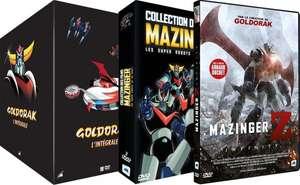 Pack de 3 coffrets DVD - Goldorak (Série TV) + Mazinger (8 Films)