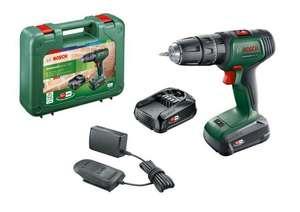 Perceuse à percussion Bosch Universalimpact 18V + 2 batteries 1,5Ah (Retrait magasin uniquement) (via ODR de 20€)
