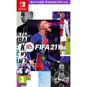 FIFA 21 sur Nintendo Switch édition essentielle