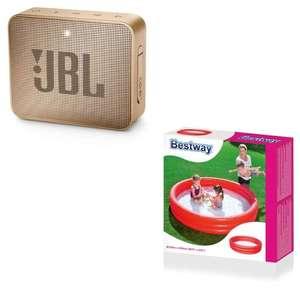 Enceinte Bluetooth JBL Go 2 + Piscine gonflable Bestway