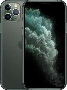 """Smartphone 5.8"""" Apple iPhone 11 Pro (full HD+, A13, 4 Go de RAM, 256 Go, vert) - reconditionné Parfait État"""