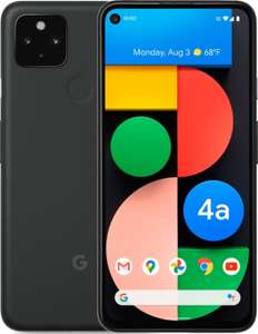 "Smartphone 6.2"" Google Pixel 4a 5G - full HD+, SnapDragon 765G, 6 Go de RAM, 128 Go, noir"