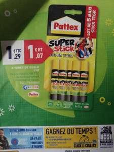 Paquet de 5 tubes de colle Pattex - 5 x 11g