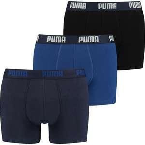 Lot de 3 boxers Homme Puma - Tailles au choix