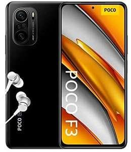 "Smartphone 6.67"" Xiaomi Poco F3 5G - Full HD+ 120 Hz, SnapDragon 870, 6 Go de RAM, 128 Go (bleu ou noir)"
