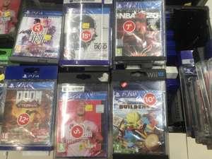 Sélection de jeux vidéo en soldes - Ex : Dragon Quest Builders 2 sur PS4 - Paris Auteuil 16ème (75)