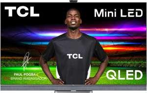 "TV 55"" TCL Mini LED 55C822 - 4K UHD, HDR10+, QLED, Android TV, Dolby Atmos & Vision, son Onkyo (via ODR de 100€)"