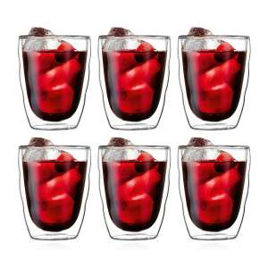 Lot de 6 verres double paroi Pilatus - 0.35 l
