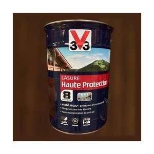 Pot de 5 l de Lasure V33 haute protection 8 ans - plusieurs teintes disponibles (Via retrait magasin - sainthimat.com)
