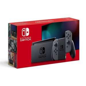 Console Nintendo Switch V2 (via 30€ sur la carte fidélité) - Joy-Con gris ou néon
