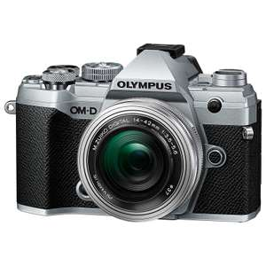 Appareil photo hybride Olympus OM-D E-M5 Mark III Argent + Ojectif 14-42 mm EZ f/3.5-5.6