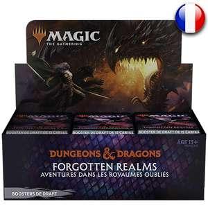 Boite de 36 Boosters Magic The Gathering : Dungeons et Dragons – Aventures dans les Royaumes Oubliés (asgardtcg.fr)