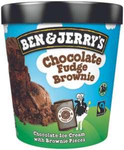 Pot de crème glacé Ben & Jerry's - Différents parfum
