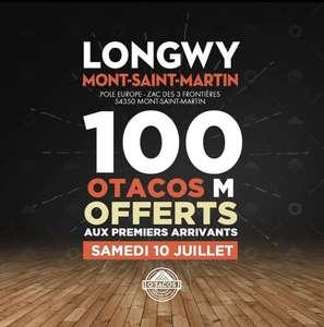 1 Tacos M offert pour les 100 premiers clients - Mont-Saint-Martin (54)