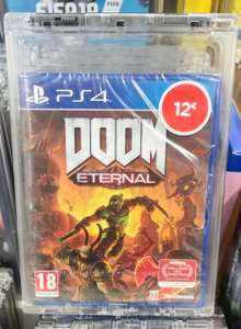 Sélection de Jeux PS4 en promotion - Ex : Doom Eternal à 12€, Monster Hunter World à 10€ (Wasquehal 59)