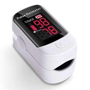 Oxymètre de pouls portable - Mesure la fréquence cardiaque et de la saturation en oxygène (Vendeur tiers)