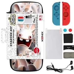 Sélection de starter kit Konix en promotion pour Nintendo Switch - Ex : Lapins Crétins