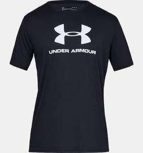 T-shirt manches courtes UA Sportstyle Logo pour homme plusieurs tailles et coloris