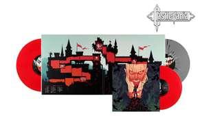 Album Vinyle Castlevania Bande son originale du jeu vidéo