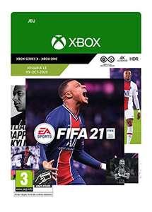 FIFA 21 Standard sur Xbox One (Dématérialisé - Version Xbox Series X incluse)