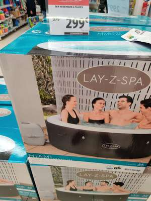 Spa gonflable rond Bestway Lay-Z-Spa Miami (4 personnes) - Leers (59)
