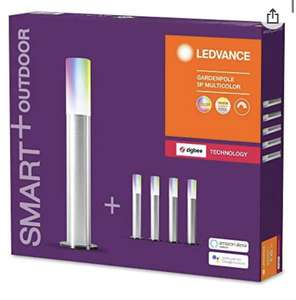 Lot de 5 lampes de jardin à LED Ledvance Smart+ - ZigBee, compatible Echo Plus, Echo Show, Philips Hue Bridge